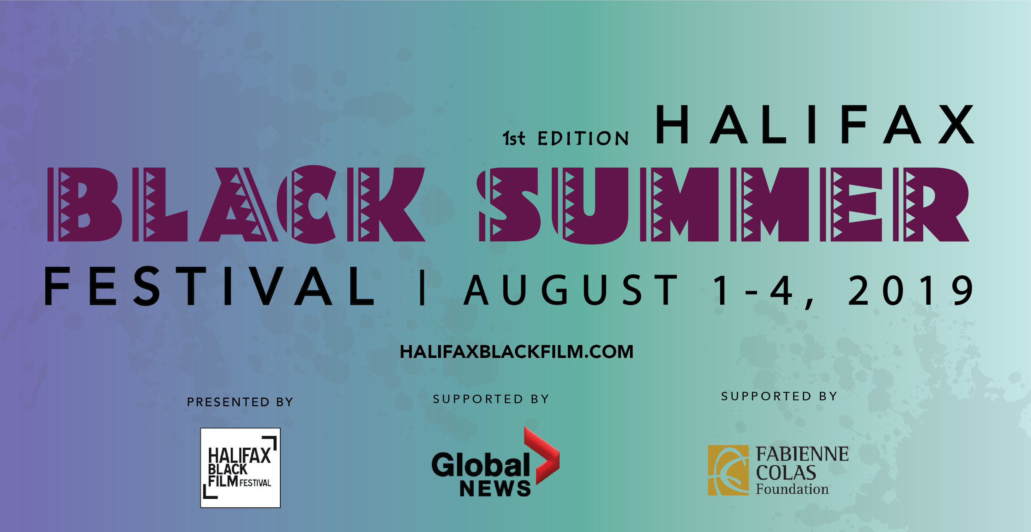 Introducing the HALIFAX BLACK SUMMER FESTIVAL (HBSF)