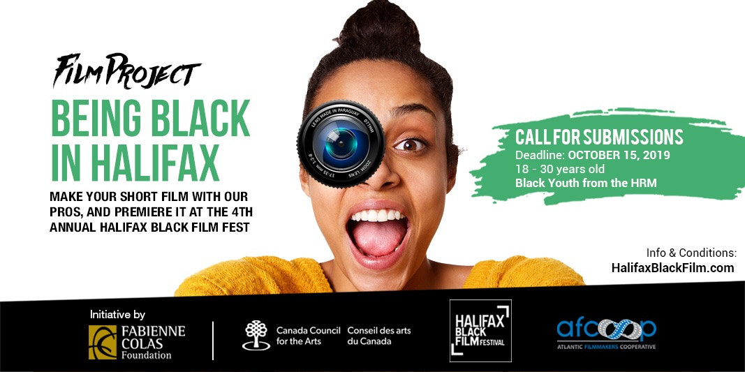 "Call for Applications! ""Being Black in Halifax"""